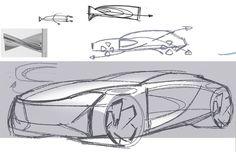 Car Design Sketch, Car Sketch, Futuristic Design, Technical Drawing, Design Process, Audi, Transportation, Sketches, Digital