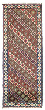 Kilim Fars carpet 257x98
