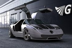 Gullwing Ciento Once (Mercedes C111 revival)
