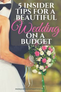 5 Creative Tips For An Amazing Wedding On A Budget