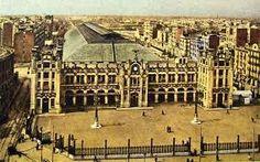 Resultado de imagen de antiguas de la Estación del Norte de Valencia