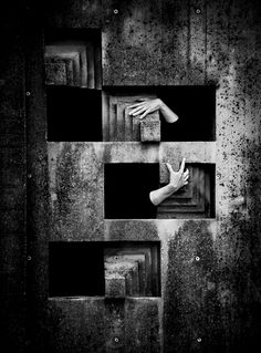 .by Andrei Graph [hands], fingers, brick, gesture, beauty, detail, beauty, photo b/w