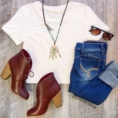 Shop Priceless - Trendy Clothing for Women and Teens Between the boots the necklace and the glasses, this outfit is FABULOUS