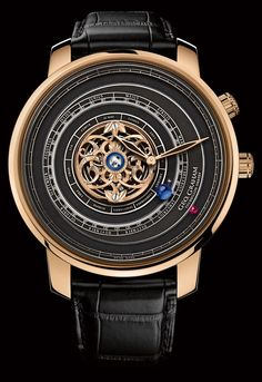Graham Tourbillon Orrery Watch With Christophe Claret Movement.