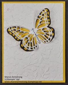 Butterflies Thinlet Dies Card