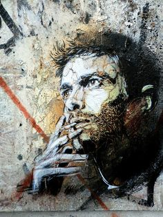 by street artist C215 - Marseille | Buy natural #gemstones online at mystichue.com