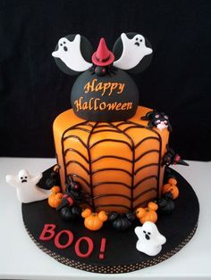 non-scary halloween cakes | Non scary Halloween cake decorations – fun cakes for kids and adults