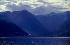Sognefjord in summer