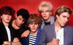 Duran Duran by Mark Weiss Nick Rhodes, Simon Le Bon, John Taylor, Great Bands, Cool Bands, 80s Musik, Birmingham, Roger Taylor Duran Duran, Divas