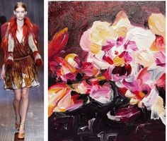 Splash Connect: Gucci - Spring 2015 Ready-to-wear - Palette Splash - Red / Cream / Yellow Ohcre / Rose Madder / Vermilion / Charcoal / White Gucci Spring, Spring 2015, Runway Fashion, Connect, Charcoal, Ready To Wear, Palette, Style Inspiration, Cream