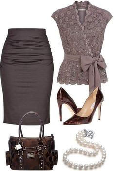 Stylish outfit idea to copy ♥ For more inspiration join our group Amazing Things ♥ You might also like these related products: - Shorts ->. Classy Work Outfits, Classy Dress, Mode Outfits, Stylish Outfits, Office Outfits, Office Attire, Office Wear, Work Fashion, Fashion Looks