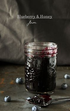 Blueberry and Honey Jam - What She's Having