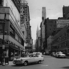 Nowy Jork, Times Square 1955 / fot. Getty Images