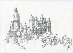 Hogwarts by kalizin on deviantART