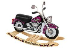 Harley-Davidson Girls Roaring Softail Rocker - FREE SHIPPING!