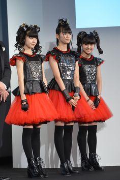 Babymetal: Mizuno Yuichan, Nakamoto Suzuka-Chan, Kikuchi Moachan