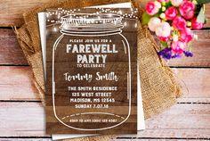 farewell flyer templates free