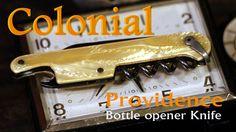 Old Colonial Providence Pocket Knife Bottle Opener