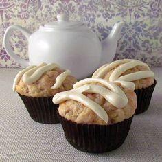 Carrot Cake Muffins - On Sugar Mountain
