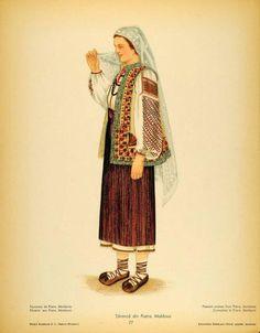 Traditional Dresses, Traditional Art, Mode Kimono, Popular Costumes, Free Black, Folk Costume, San Jose, Anthropology, Romania
