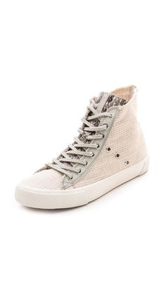 5393c99e7393 Rachel Zoe Barret High Top Sneakers