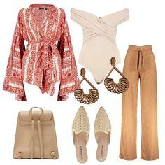 f1b47f3995 Etno style Boohoo #tall: outfit donna Ethnic per tutti i giorni | Bantoa