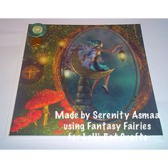 Made by Serenity Asmaa using Fantasy Fairies for Lelli-Bot Crafts