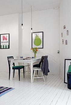 Challenging 50-square meter apartment with Nordic interior décor