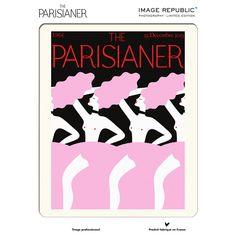 Affiche The Parisianer N°2 Zagnioli, - MERCI