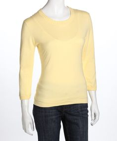 Straw Short-Sleeve Sweater