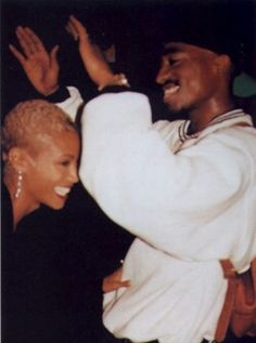 Jada and Pac... Homies. Love this picture