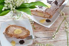 Aga w kuchni: Rolada czekoladowa z bananem