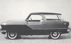 Nash Metropolitan Wagon concept.
