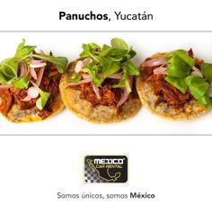 Si visitas Yucatán, no te olvides de probar sus deliciosos Panuchos, es una comida típica.  Reserva en: http://mexicocarrental.com.mx/Renta-De-Autos-En-Merida/