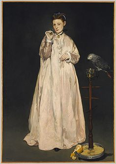Édouard Manet: Young Lady in 1866 (89.21.3) | Heilbrunn Timeline of Art History | The Metropolitan Museum of Art