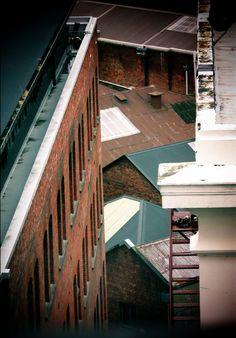 Octagon Rooftops - Dunedin. by Lori Tuiavi'i Maxwell