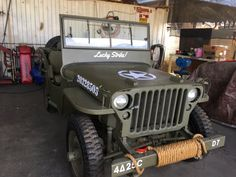 1943 Willys MB - Photo submitted by SGM Anthony F. Anoia.