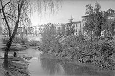 Río Segura 1930. Fuente Museo Huertano de Murcia