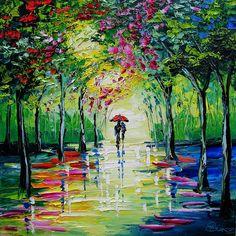 """Spring Rain"": feast your eyes."