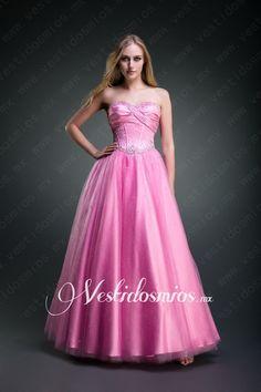 Tul Escote Corazon Princesa Lentejuelas Vestido de Fiesta