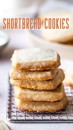 Best Shortbread Cookies, Buttery Cookies, Yummy Cookies, Cupcake Cookies, Cupcakes, Holiday Baking, Christmas Baking, Christmas Cookies, Easy Cookie Recipes