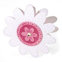 Embossed Flower in Flower Card