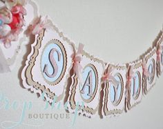 Winter Wonderland Birthday Banner Special por propshopboutique