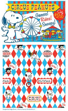 Circus Peanuts...Games! Rides! Snoopy! Only $2.00
