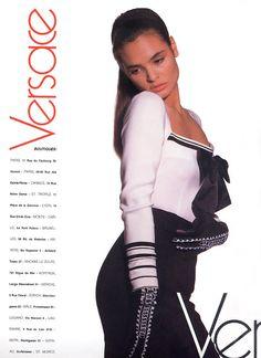 TALISA SOTO Gianni Versace Ad 1988