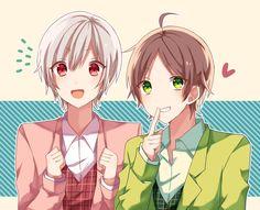 Mafumafu and Sakata