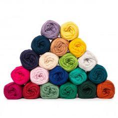 Yarn bag – Rainbow – Sunshine Valley – 20 colors from Hobbii Thread Crochet, Knit Or Crochet, Freeform Crochet, Crochet Unicorn Hat, Baby Afghan Crochet Patterns, Crochet Stitches For Beginners, Yarn For Sale, Yarn Bag, I Love This Yarn
