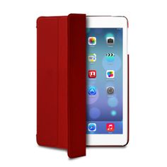 Funda tipo Zeta Slim Roja para iPad Air de Puro