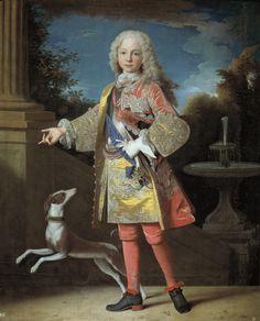 Infante Fernando, (futuro Fernando VI ), hijo de Felipe V y María Luisa Gabriela de Saboya. 1723 (Jean Ranc)