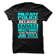 Awesome Shirt For Military Police